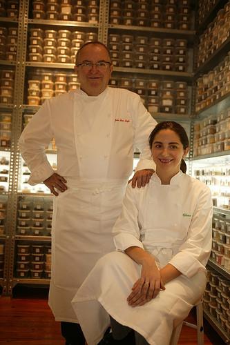 Elena Arzak, en la intimidad de su cocina