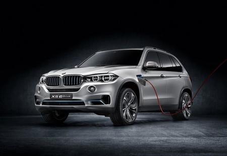 La eficiente combinación del BMW Concept X5 eDrive, 'eDrive' más 'xDrive'