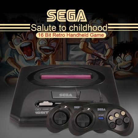 A la nostalgia retro de Nintendo le sale un competidor: Sega Mega Drive 2 por 15 euros