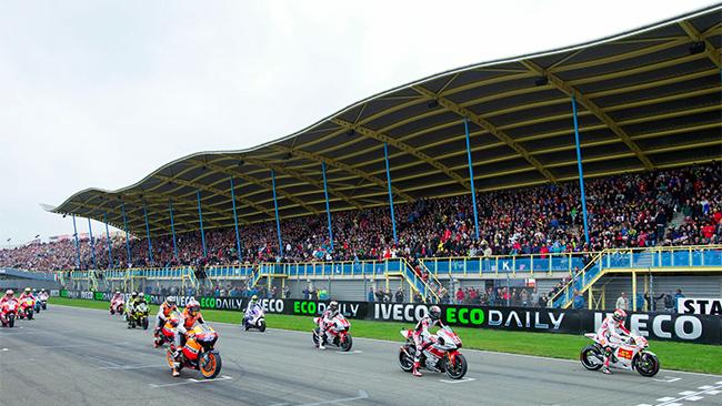 Parrilla Gran Premio de Holanda 2011