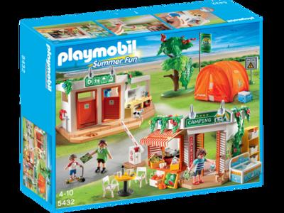 Campamento Playmobil Vacaciones por 36,62 euros en Amazon con envío gratis