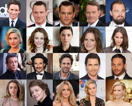 Todos los actores nominados son blancos