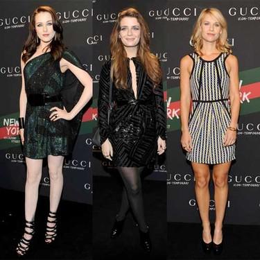 Claire Danes, Mischa Barton y Evan Rachel Wood de fiesta con Gucci