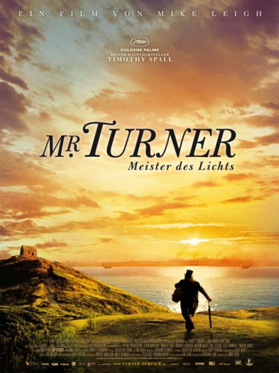 Foto de Todos los carteles de 'Mr. Turner' (1/3)