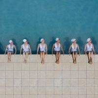 'Water geomaids', capturando la belleza de la natación sincronizada desde la mejor perspectiva, por Brad Walls