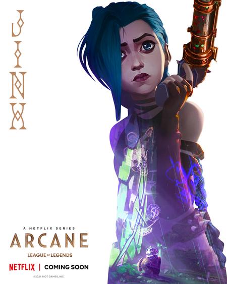 League of Legends: Arcane (Riot Games)