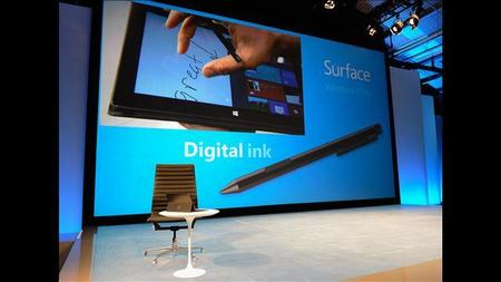 Tinta digital de la mano del Pen de Microsoft Surface