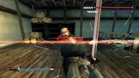 Tenchu 4 en PSP