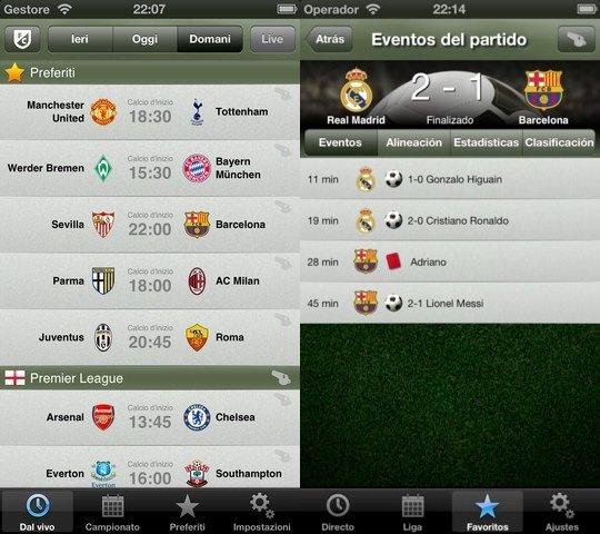 FotMob, resultados de fútbol en tiempo real en tu móvil