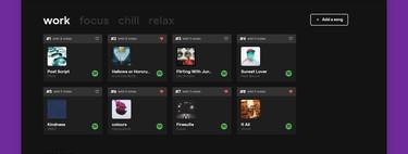 En esta web puedes participar en una selección diaria de música para gente que trabaja desde casa