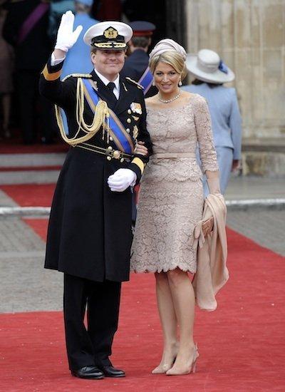 príncipe Willem-Alexander y la princesa Maxima de Holanda