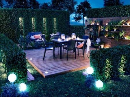 Consigue una iluminación perfecta para las largas noches de verano