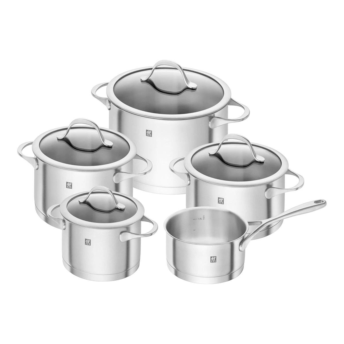 Batería de cocina de 5 piezas Essence Zwilling