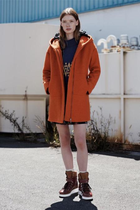 abrigo zara trf septiembre coleccion 2014