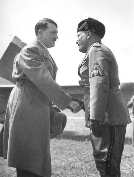 Alfred Eisenstaedt Hitler Mussolini
