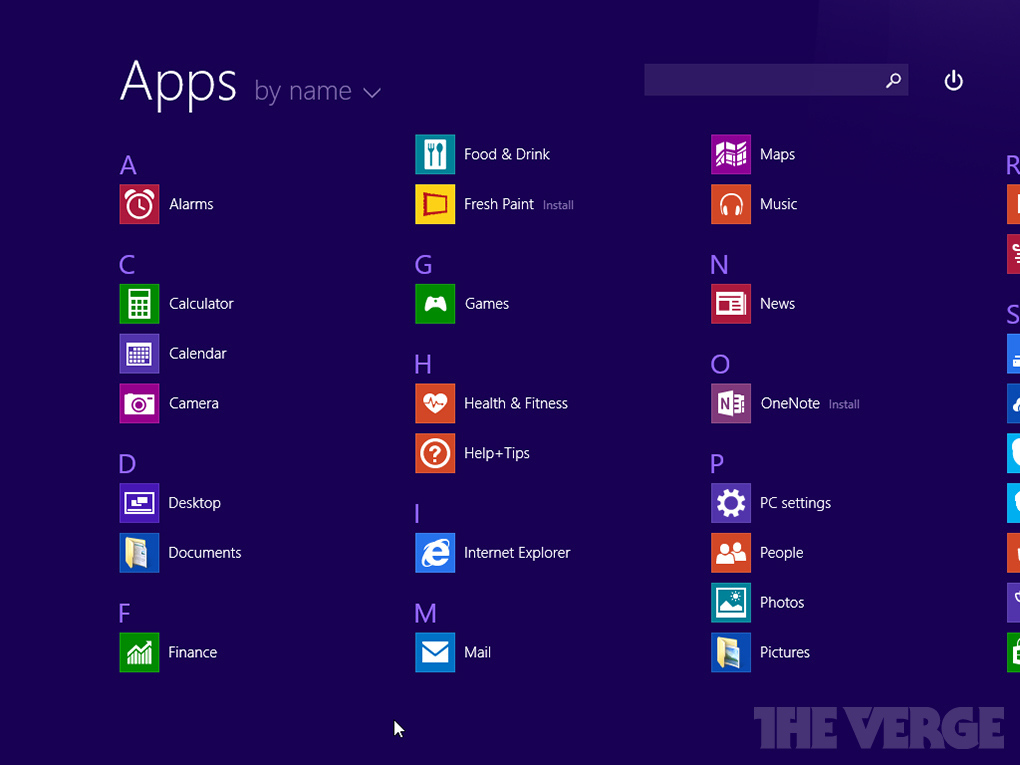 Capturas de pantalla Windows 8.1 Update 1