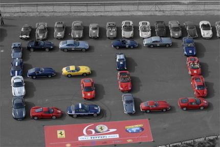 Silverstone intentará batir el récord de concentración de Ferrari el 8 de junio