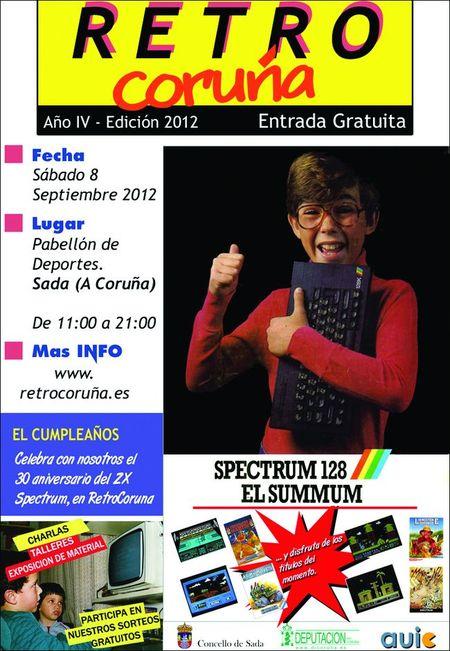RetroCoruña 2012 - Cartel