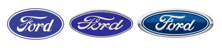 Ford Logo 1956 1976 1927