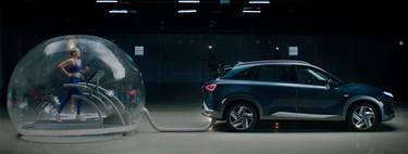 ¿Respirar del escape de un auto al ejercitarse? Así de limpio es el hidrógeno como combustible