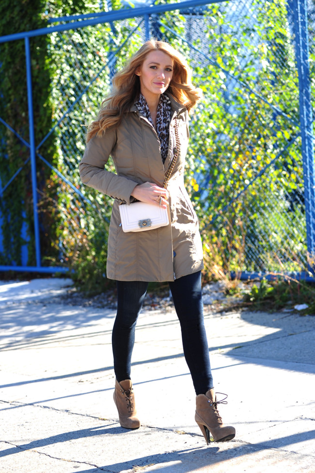 Blake Lively Wearing Peuterey 1