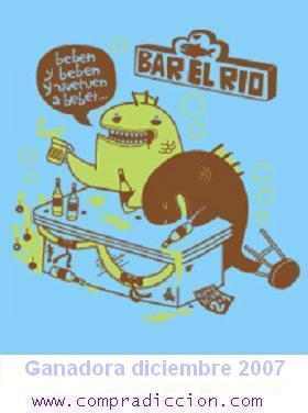 La camiseta de diciembre es Bar Rio