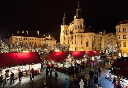 Mercadillo Navidad Plaza Vieja Praga