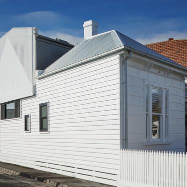 Una casa victoriana remodelada con un toque moderno, una idea sorprendente que se ha logrado con mucho éxito