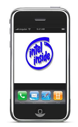Intel niega los comentarios del iPhone con Intel Atom