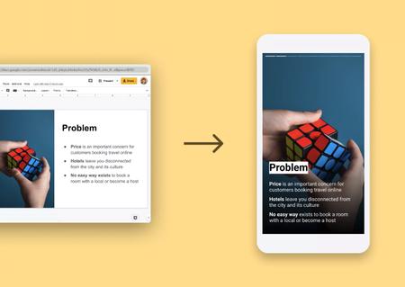 Con esta herramienta puedes convertir casi cualquier presentación de Google en una historia al estilo Instagram