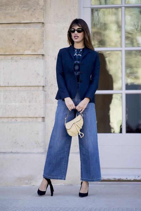 Como Llevar Pantalones Anchos De Vestir En Tu Dia A Dia En Tus Looks Para El Trabajo Etc