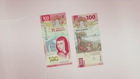 """Nuevo billete de 100 pesos en México: Sor Juana Inés de la Cruz como protagonista en """"nuevo"""" diseño vertical"""
