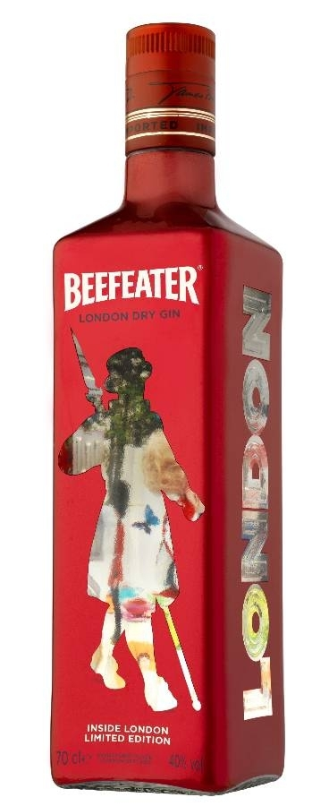 Limited Edition London Gin Beefeater. Packaging espectacular