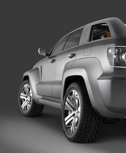 Jeep Trailhawk Concept desvelado