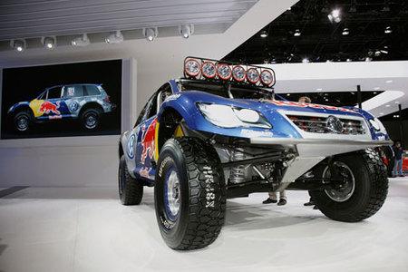 El Volkswagen Touareg TDI Trophy Truck Concept en el Salón de Los Ángeles