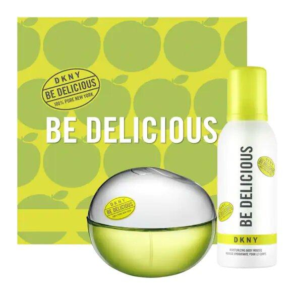 Estuche DKNY Be Delicious Eau de Parfum + Body Mousse