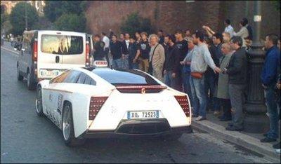 Giugiaro Quaranta Concept, un prototipo reconvertido a taxi