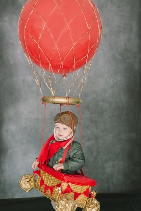 Explorador en globo