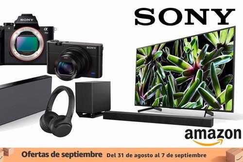Ofertas de septiembre en artículos Sony: smart TVs, auriculares, microcadenas, barras de sonido o cámaras fotográficas a los mejores precios