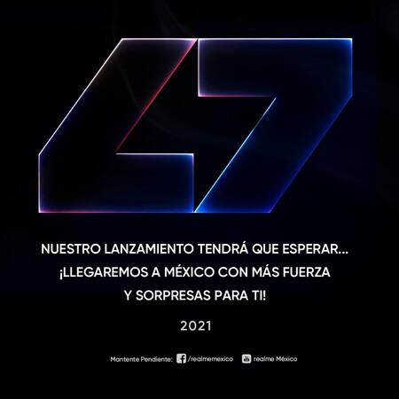 Realme Lanzamiento Mexico 2021