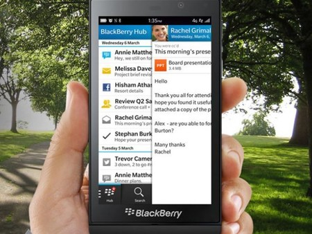 Completely Integrated Blackberry Hub