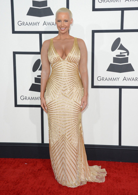 Amber Rose Peor Grammy 2014
