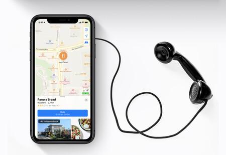 Un día informé de un punto de interés y me llamaron de Apple Maps