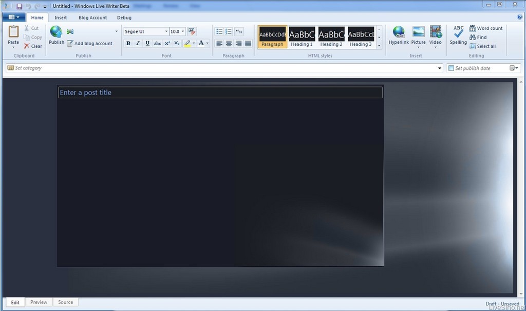 Foto de Capturas de pantalla Windows Live Writer Wave 4 (5/5)