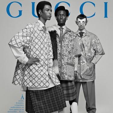 Gucci vuelve a la era glam de las revistas de los sesentas en su campaña de invierno