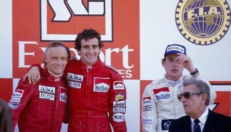 Lauda Prost Portugal F1 1984