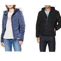 Chollos en tallas sueltas de abrigos y chaquetas Superdry para hombre y mujer a la venta en Amazon