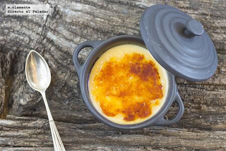 Crema catalana tradicional: receta fácil con Thermomix