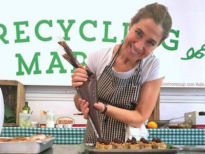 Taller para aprender a aprovechar alimentos de Ada Parellada en el Recycling Market
