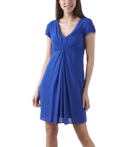 vestido azul promod